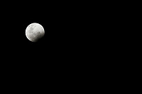 Lunar eclipse, leading to the super blood wolf moon 2019