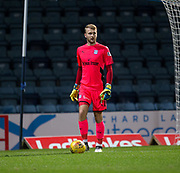 Dundee goalkeeper Scott Bain - Dundee under 20s v Motherwell in the SPFL development league at Dens Park, Dundee<br /> <br /> <br />  - &copy; David Young - www.davidyoungphoto.co.uk - email: davidyoungphoto@gmail.com