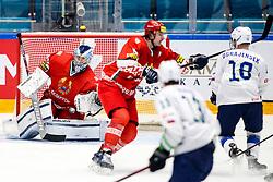 Dmitri Milchakov of Belarus during ice hockey match between Belarus and Slovenia at IIHF World Championship DIV. I Group A Kazakhstan 2019, on May 2, 2019 in Barys Arena, Nur-Sultan, Kazakhstan. Photo by Matic Klansek Velej / Sportida