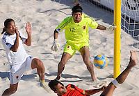 FIFA BEACH SOCCER WORLD CUP 2008 SPAIN - JAPAN   22.07.2008 Goalkeeper Tomoya GINOZA (JPN).