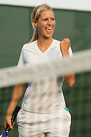Tennis Player Pumping Her Fist