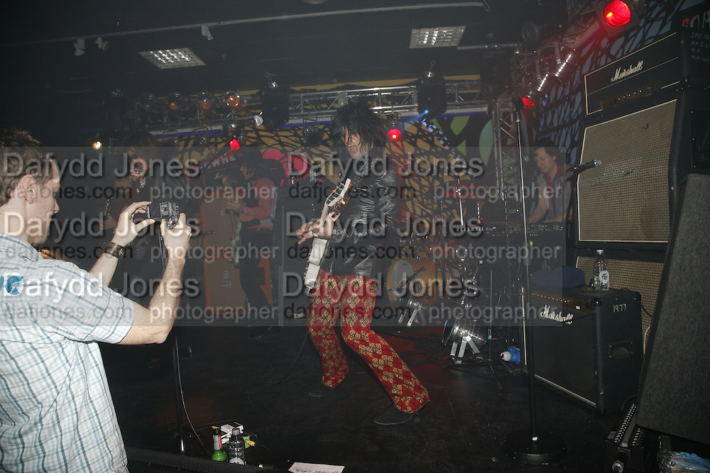 New York Dolls performing, Future Punk Launch party at Selfridges, Oxford St. : 9th March. ONE TIME USE ONLY - DO NOT ARCHIVE  © Copyright Photograph by Dafydd Jones 66 Stockwell Park Rd. London SW9 0DA Tel 020 7733 0108 www.dafjones.com