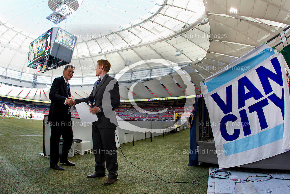 27 July 2013:   Action during a game between Vancouver Whitecaps FC and Philadelphia Union on Bell Pitch at BC Place Stadium in Vancouver, BC, Canada. Final Score: Vancouver 0 - Philadelphia 1  ****(Photo by Bob Frid - Vancouver Whitecaps 2013 - All Rights Reserved)***