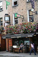 Doherty and Nesbitt Irish pub on Baggot Street Dublin Ireland