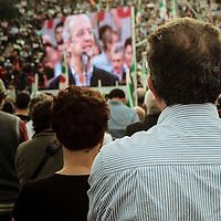 PD, prima manifestazione nazionale. 25.10.2008