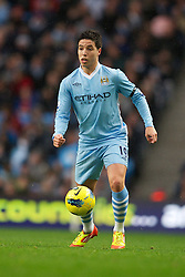 03.12.2011, City of Manchester Stadium, Manchester, ENG, PL, Manchester City vs Norwich City, 14. Spieltag, im Bild Manchester City's Samir Nasri in action against Norwich City's // during the football match of english Premier League, 14th round between Manchester City vs Norwich City at City of Manchester stadium, Manchester, ENG on 2011/12/03. EXPA Pictures © 2011, PhotoCredit: EXPA/ Sportida/ David Rawcliff..***** ATTENTION - OUT OF ENG, GBR, UK *****
