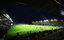 A general view of The Stoop before kick off during the Gallagher Premiership match at Twickenham Stoop, London.