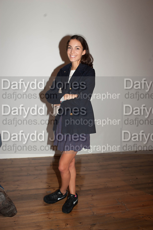 JESSICA CRAWLEY, Opening of Morris Lewis: Cyprien Gaillard. From Wings to Fins, Sprüth Magers London Grafton St. London. Afterwards dinner at Simpson's-in-the-Strand hosted by Monika Spruth and Philomene Magers.