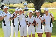 Auckland Team overall winners. 2011 Toro New Zealand Women's Interprovincial, Final Round, Saturday 10 Decmenber 2011. Whakatane Golf Club, Whakatane, New Zealand. Saturday 10 Decmenber 2011. Photo: Mark McKeown/PHOTOSPORT