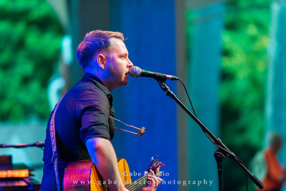 John Fullbright performs on the Venetian Theatre Stage at the American Roots Music Festival at Caramoor in Katonah New York on June 25, 2016. <br /> (photo by Gabe Palacio)
