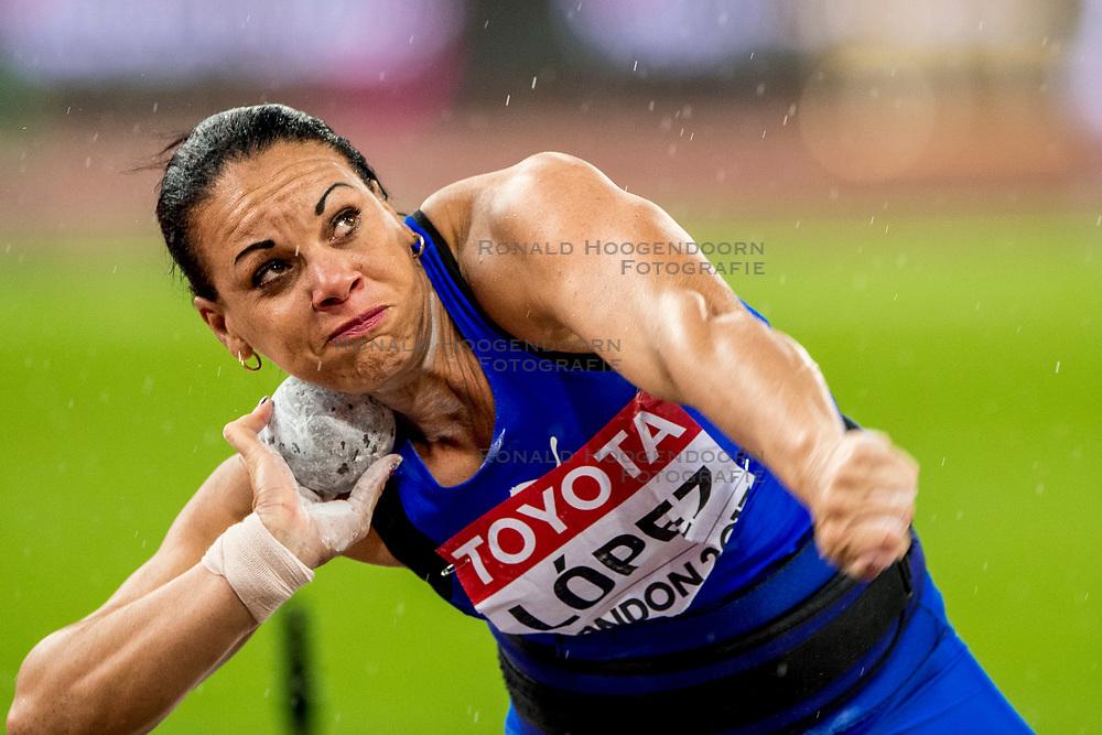 09-08-2017 IAAF World Championships Athletics day 6, London<br /> Yaniuvis Lopez CUB (kogelstoten)