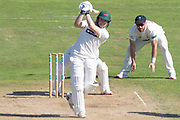 Harry Dearden batting during the Specsavers County Champ Div 2 match between Glamorgan County Cricket Club and Leicestershire County Cricket Club at the SWALEC Stadium, Cardiff, United Kingdom on 19 September 2019.