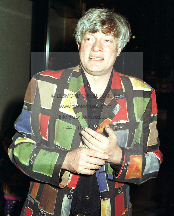MR GEOFFREY ROBERTSON QC. at a party in London on April 3rd 1997.LXH 45