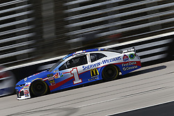 November 2, 2018 - Ft. Worth, Texas, United States of America - Jamie McMurray (1) takes to the track to practice for the AAA Texas 500 at Texas Motor Speedway in Ft. Worth, Texas. (Credit Image: © Justin R. Noe Asp Inc/ASP via ZUMA Wire)