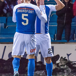 #25 Eamonn Brophy (Kilmarnock) celebrates - Kilmarnock v Dundee - Ladbrokes Premiership - 13 February 2018 - © Russel Hutcheson   SportPix.org.uk