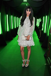 JOY VIELI at a party to launch the Dom Perignon Luminous label held at No.1 Mayfair, London on 24th May 2011.