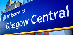Welcome to Glasgow Central display board<br /> <br /> (c) Andrew Wilson   Edinburgh Elite media