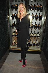 IMOGEN LLOYD WEBBER at a party to launch the Dom Perignon OEotheque 1995 held at The Landau, Portland Place, London W1 on 26th February 2008.<br />