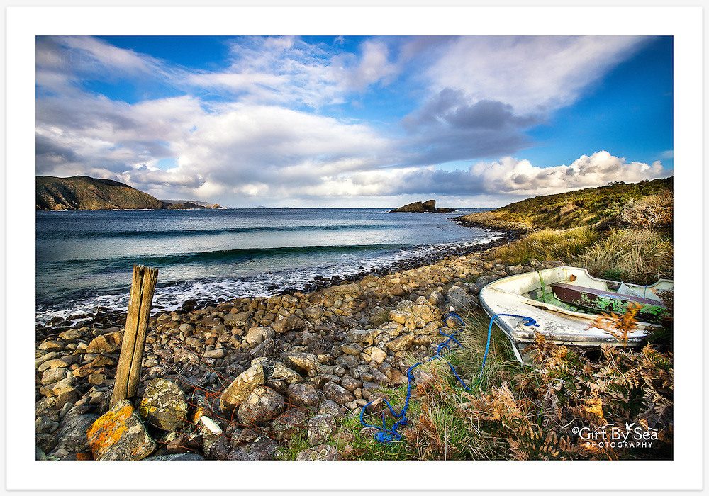 A quiet moment on the beautiful wild coastline at Lighthouse Bay [Bruny Island, Tasmania]<br /> <br /> Image ID: 207221. Order by email to orders@girtbyseaphotography.com quoting the image ID, preferred print size & media. Current standard size prices are published on the Pricing page. Custom sizes also available.