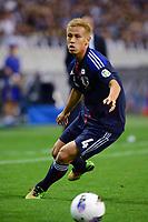 BILDET INNGÅR IKKE I FASTAVTALENE PÅ NETT MEN MÅ KJØPES SEPARAT<br /> <br /> Fotball<br /> Japan<br /> Foto: imago/Digitalsport<br /> NORWAY ONLY<br /> <br /> 08.06.2012 <br /> Keisuke Honda (JPN), JUNE 8, 2012 - Football / Soccer : 2014 FIFA World Cup Asian Qualifiers Final round Group B match between Japan 6-0 Jordan at Saitama Stadium 2002 in Saitama, Japan.