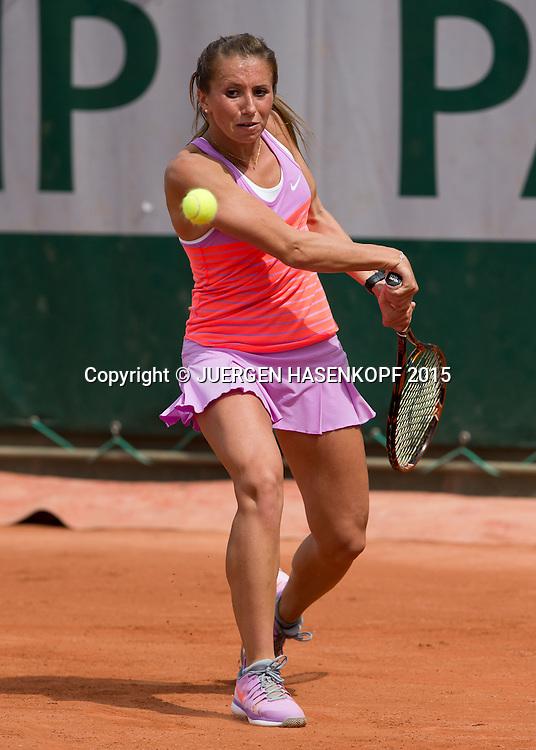 Annika Beck (GER)<br /> <br /> Tennis - French Open 2015 - Grand Slam ITF / ATP / WTA -  Roland Garros - Paris -  - France  - 29 May 2015.
