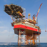 Vietnam | Industry | Oil rig