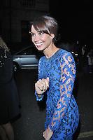 LONDON - November 30: Christine Bleakley at the British Olympic Ball (Photo by Brett D. Cove)