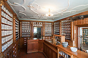 Apothekenmuseum, Bad Muenstereifel, Eifel, Nordrhein-Westfalen, Deutschland.|.pharmacy museum, Bad Muenstereifel, Eifel, North Rhine-Westphalia, Germany