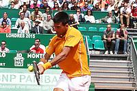 Novak Djokovic - 17.04.2015 - Tournoi de Monte Carlo 2015 - Masters 1000 <br />Photo : Serge Haouzi / Icon Sport