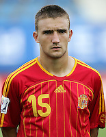 Fussball International U17 WM Korea  Honduras - Spanien Honduras - Spain Sergio (ESP)