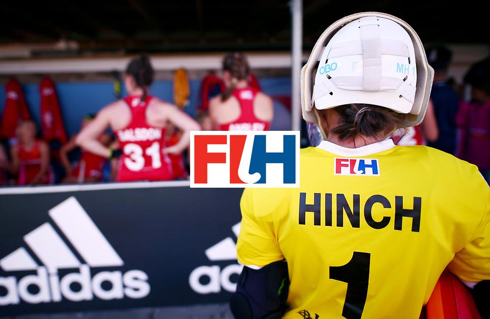 New Zealand, Auckland - 23/11/17  <br /> Sentinel Homes Women&rsquo;s Hockey World League Final<br /> Harbour Hockey Stadium<br /> Copyrigth: Worldsportpics, Rodrigo Jaramillo<br /> Match ID: 10305 - USA vs ENG<br /> Photo: