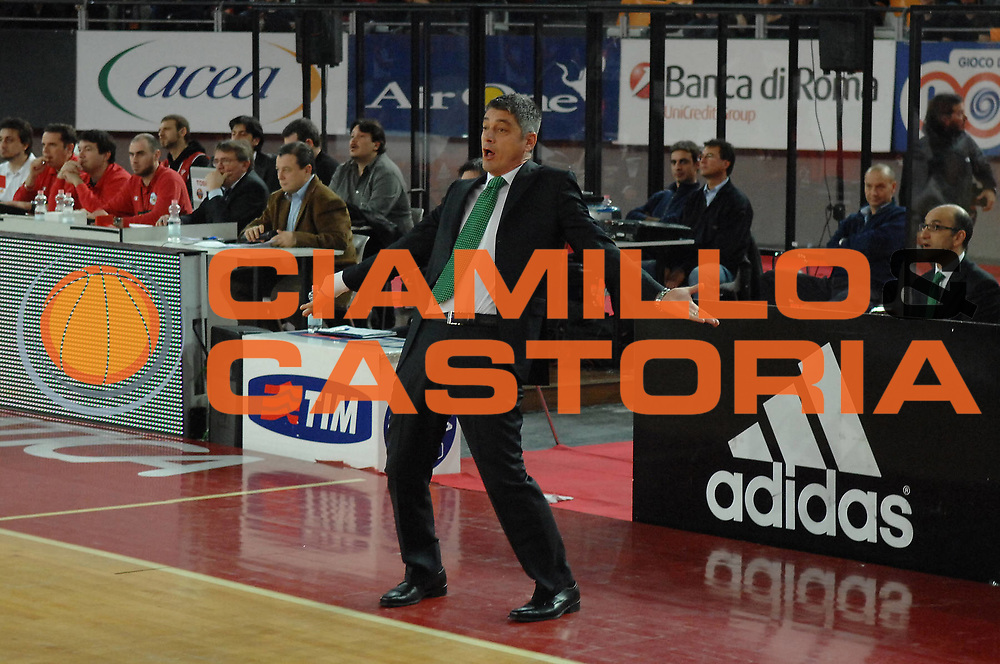 DESCRIZIONE : Roma Lega A1 2007-08 Lottomatica Virtus Roma  Benetton Treviso<br /> GIOCATORE : Oktay Mahmuti<br /> SQUADRA : Benetton Treviso<br /> EVENTO : Campionato Lega A1 2007-2008 <br /> GARA : Lottomatica Virtus Roma  Benetton Treviso<br /> DATA : 02/03/2008<br /> CATEGORIA : Delusione<br /> SPORT : Pallacanestro <br /> AUTORE : Agenzia Ciamillo-Castoria/E. Grillotti
