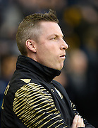 Millwall manager Neil Harris during the Sky Bet League 1 match between Millwall and Bury at The Den, London, England on 28 November 2015. Photo by David Charbit.