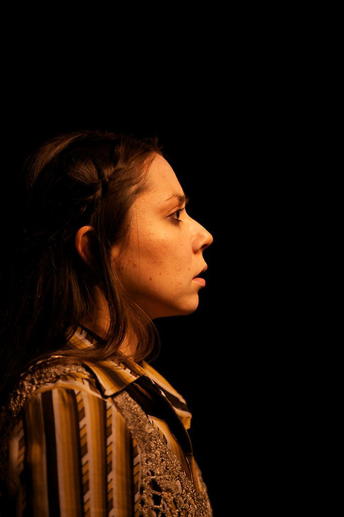 Dark Owl by Tableau D'Hote Theatre..Written by Laval Goupil.Directed by Jessica Abdallah.Translations by Glen Nichols.Set by Jennifer Goodman.Lighting By Jody Burkholder..Starring Lea Rondot, Holly Gauthier-Frankel, Catherine Lemieux, Dan Jeanotte, Gilles Plouffe and Liz Burns..Performed at Mainline Theatre in Montreal, Quebec in November 2010.