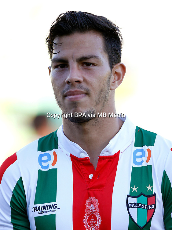 Chile Football League First Division - <br /> Scotiabank Tournament 2016 - <br /> ( Club Deportivo Palestino ) - <br /> Fernando Nicolas Meza