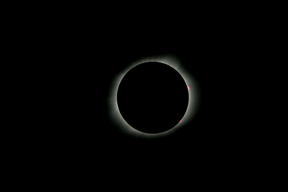 Solar Eclipse, 2017, Totality, Bailey's Bead's