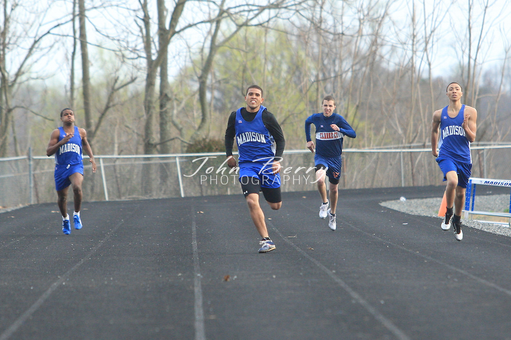 MCHS Track and Field.vs Clarke.4/9/2008..