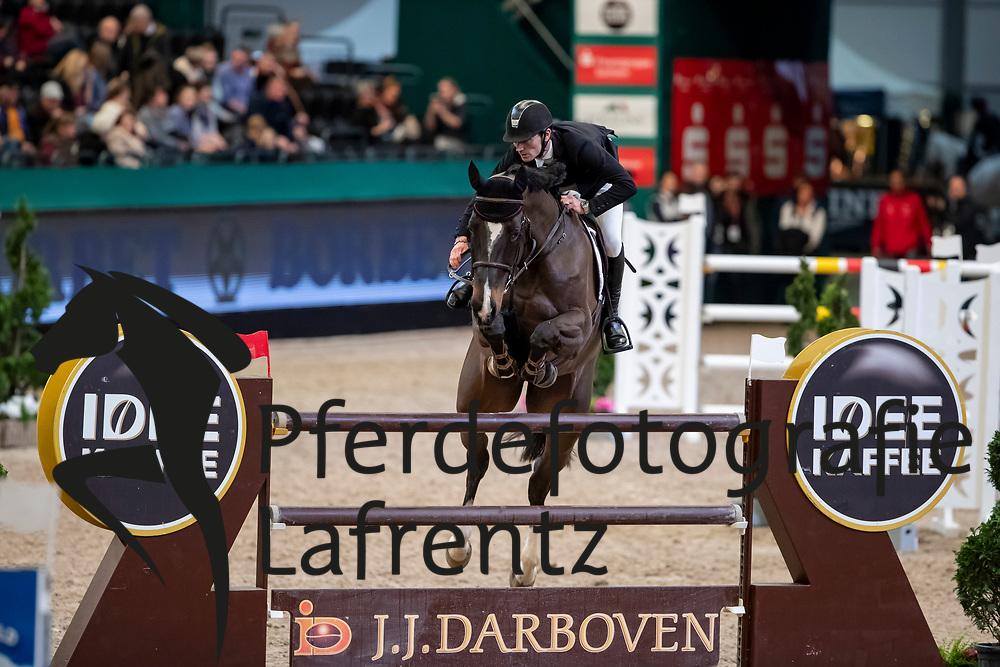 EDER Stefan (AUT), Celpik<br /> Leipzig - Partner Pferd 2019<br /> IDEE Kaffe Preis<br /> CSI5*<br /> 18. Januar 2019<br /> © www.sportfotos-lafrentz.de/Stefan Lafrentz