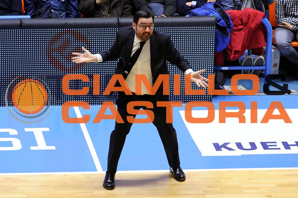 Lepore Paolo<br /> Enel Brindisi - Vanoli Cremona<br /> Lega Basket Serie A 2016/2017<br /> Brescia, 05/03//2017<br /> Foto Ciamillo-Castoria