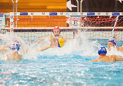 Josip Pavic of Olympiacos during water polo match between Primorje Erste Bank (CRO) and Olympiacos Piraeus (GRE) in 8th Round of Champions League 2016, on April 16, 2016 in Kantrida pool, Rijeka, Croatia. Photo by Vid Ponikvar / Sportida