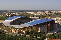 LEIRIA-19 NOVEMBRO:Fotografias do novo estádio municipal de Leiria (estádio Magalhaes Pessoa), construido para albergar a equipa da primeira liga U.D. Leiria e o EURO 2004 inaugurado a 19 de Novembro de 2003 19-10-2003 <br />(PHOTO BY: AFCD/NUNO ALEGRIA)