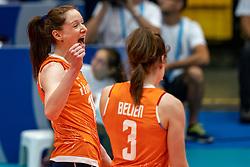 03-08-2019 ITA: FIVB Tokyo Volleyball Qualification 2019 / Netherlands, - Kenya Catania<br /> 3rd match pool F in hall Pala Catania between Netherlands - Kenya. Netherlands win 3-0 / Lonneke Sloetjes #10 of Netherlands
