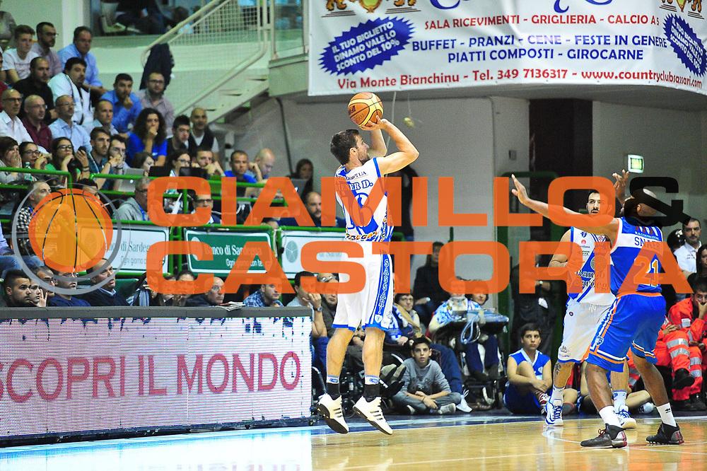 DESCRIZIONE : Campionato 2013/14 Quarti di Finale GARA 1 Dinamo Banco di Sardegna Sassari - Enel Brindisi<br /> GIOCATORE : Drake Diener<br /> CATEGORIA : Tiro Tre Punti Controcampo<br /> SQUADRA : Dinamo Banco di Sardegna Sassari<br /> EVENTO : LegaBasket Serie A Beko Playoff 2013/2014<br /> GARA : Dinamo Banco di Sardegna Sassari - Enel Brindisi Quarti Gara1<br /> DATA : 19/05/2014<br /> SPORT : Pallacanestro <br /> AUTORE : Agenzia Ciamillo-Castoria / M.Turrini<br /> Galleria : LegaBasket Serie A Beko Playoff 2013/2014<br /> Fotonotizia : DESCRIZIONE : Campionato 2013/14 Quarti di Finale GARA 1 Dinamo Banco di Sardegna Sassari - Enel Brindisi<br /> Predefinita :