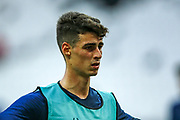 Chelsea goalkeeper Kepa Arrizabalaga (1) during the Chelsea Training session ahead of the 2019 UEFA Super Cup Final between Liverpool FC and Chelsea FC at BJK Vodafone Park, Istanbul, Turkey on 13 August 2019.
