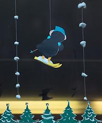 13.10.2017, Skimittelschule, Neustift im Stubaital, AUT, im Bild Basteleiein der Schüler an den Fenstern. Die weltweite Welle an Outings von Frauen Opfer sexueller Gewalt geworden zu sein mach auch vor Österrich nicht Halt. Nach den Aussagen der ehemaligen Skirennläuferin Nicola Werdenigg rückt die Skimittelschule (damals Skihauptschule) Neustift mit dem dazugehörenden Internat in den Mittelpunkt der derzeitigen Diskussionen // The worldwide outing-wave of women to be victims of sexual violence does not stop even before Austria. According to the statements of the former ski racer Nicola Werdenigg the ski school Neustift with the associated boarding gets in focus of the current public discussion, in Neustift im Stubaital, Austria on 2017/11/28. EXPA Pictures © 2017, PhotoCredit: EXPA/ Jakob Gruber