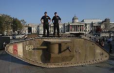 London: Tank anniversary, 15 September 2016