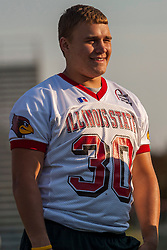 "16 August 2004    Running Back / Line Backer Dave Mordis   ""Meet the Redbirds"" evening at Illinois State University, Normal IL"