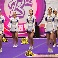 12-10-16 Berryville Cheerleading at Bentonville High School