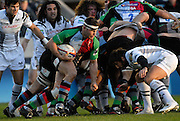 Twickenham, GREAT BRITAIN,  Quins Nick EASTER, breaking from the back of the scrum, during the EDF. Energy Cup. between, Harlequins vs Ospreys at Twickenham Stoop.  02/12/2007 [Mandatory Credit Peter Spurrier/Intersport Images].