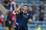 10th August 2019; Dens Park, Dundee, Scotland; SPFL Championship football, Dundee FC versus Ayr; Cammy Kerr of Dundee celebrates at the end of the match